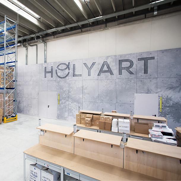 Holyart - Nuova Sede