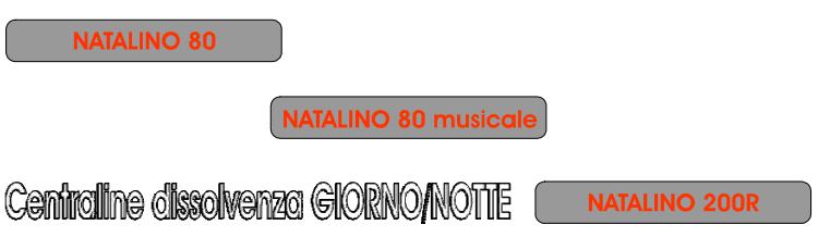 Natalino 80 - Natalino 80 musicale - Natalino 200R