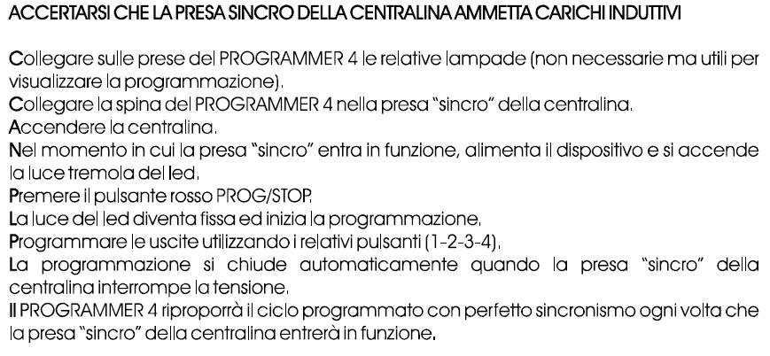 Programmer 4 Programmazione